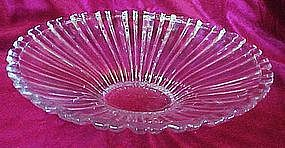Elegant crystal center bowl 15""