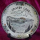 Vintage Crater Lake, Oregon souvenir plate