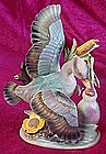 Relpo 466 duck & baby, figurine, 1960