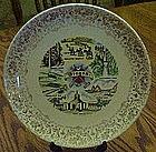 Vintage souvenir state plate, Oregon