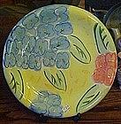 Bella Ceramics, flora pattern dinner plate