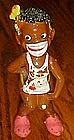Vintage Enesco African native figurine