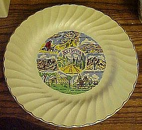 Arizona souvenir  state plate by Sheffield USA