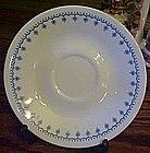 Corelle Snowflake pattern saucer