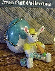 Avon wood Easter rabbit