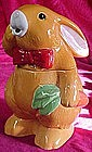 Adorable Peter Rabbit cookie Jar