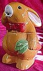 Adorable Peter Rabbit cookie Jar