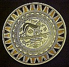 Hand made Neofitoy Keramik plate of Cerberus Greece
