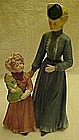 Homco Victorian Mother and Child figurine #8812