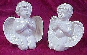 Praying Angel salt and pepper shakers