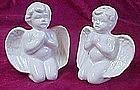 Praying Angel salt and pepper shakers