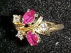 Vintage 1975 Royal Radiance ring by Avon