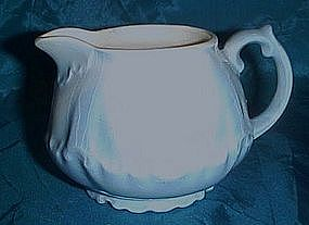 Vintage blue and white creamer