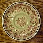 Jackson china saucer, Jessica pattern, restaurant ware
