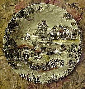 Staffordshire Yorkshire cereal bowl