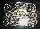 Texas longhorn belt buckle