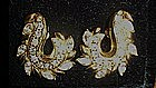 Avon Rhinestone Fantasy clip earrings, 1991