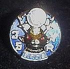 B.P.O.E. 35 year service pin / tie tac