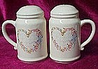 Large wreath heart with flowers range shakers