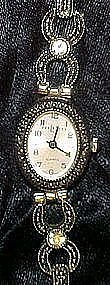 Ladies Express L.A. marcasite  look wristwatch