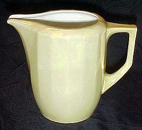 Vintage yellow lustreware pitcher, Eleanor, Germany