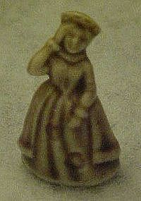 Wade Whimsies Nursery Rhyme, Queen of hearts figure