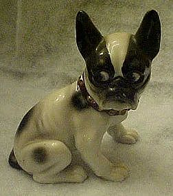 Antique boston bull terrier figurine
