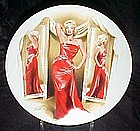 Marilyn Monroe plate, How to Marry a millionaire,