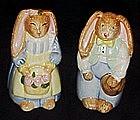 Flop earred bunny rabbit creamer