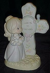 Precious Moments, Lead me to Calvary, figurine