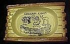 Oregon Caves vintage souvenir ceramic ashtray