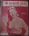 Blacksmith Blues, sheet music, Ella Mae Morse cover