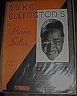 Vintage Duke Ellington Piano Solos book / folio 1931