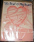 The beat O' my Heart, sheet music 1934, Johnny Burke