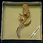 Rosebud pin, boxed