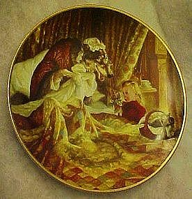 Knowles Collectors'  Plate,  Little Red Riding Hood