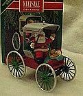 Hallmark ornament, Festive surrey, Here comes Santa