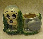 Hull pottery cocker spaniel planter
