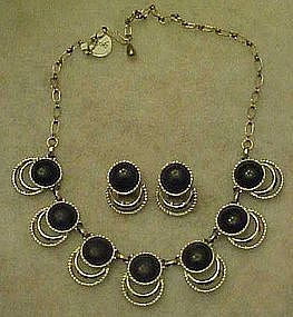 Sarah Coventry Bold and Beautiful necklace and earrings