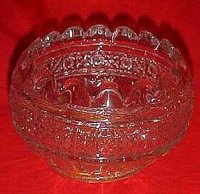 EAPG Hawaiian Lei or Gala rose bowl / ferner ,Higgins