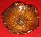 Handmade Gregarian  solid copper ashtray or bowl,
