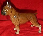 Occupied Japan  ceramic Boxer dog figurine