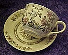 Japan Indiam Tree, cup and matching saucer set