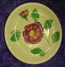 Blue Ridge Southern Potteries Mirror Image saucer