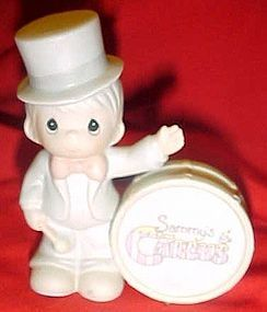 Precious Moments Sammy's Circus figurine,