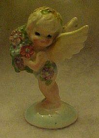Rare Enesco fairy figurine with bouquet