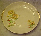 Paden City Pottery PCP60, yellow daisies, bread plate