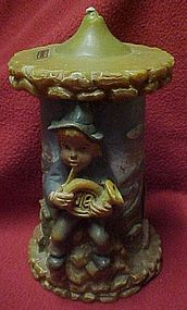 Vintage Gunter-Kerzen scenic Germany Candle