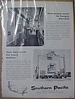 Vintage 1962 Southern Pacific Railroad advertisement