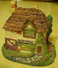 Department 56 Dickens miniature ccp cottage,  Butcher